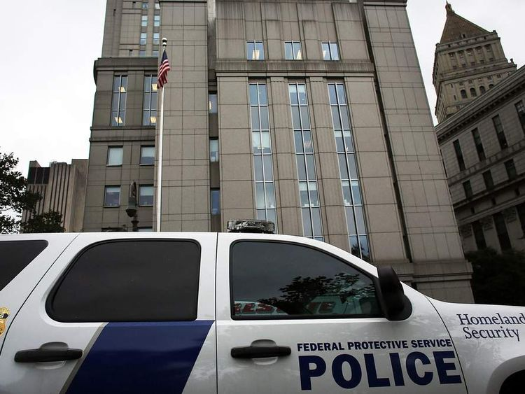 US District Court in New York where terror suspect Abu Hamza appeared