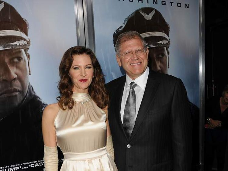 Robert Zemeckis with wife, Leslie Harter Zemeckis