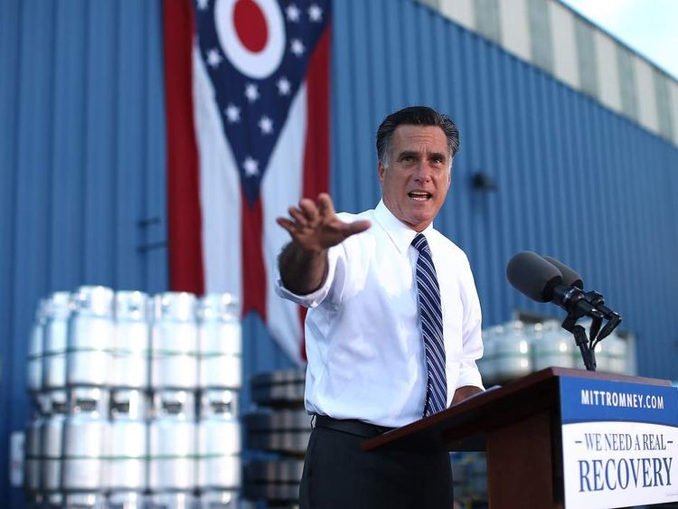 Romney in Cincinnati