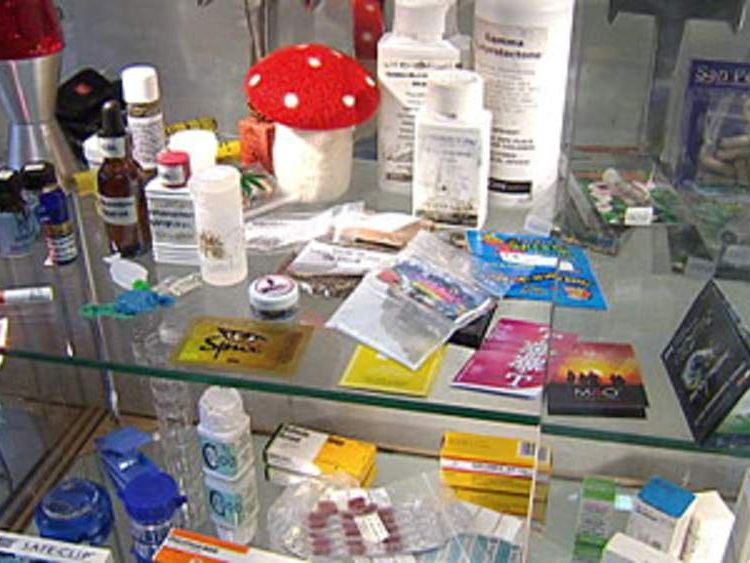 Legal highs including mephedrone and the now illegal GBL