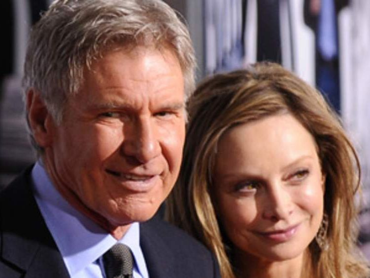 Harrison Ford and actress Calista Flockhart