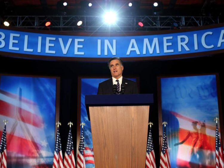 Mitt Romney concedes defeat in US election
