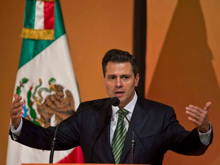 MEXICO-SUMMIT-BUSINESS-PENA NIETO