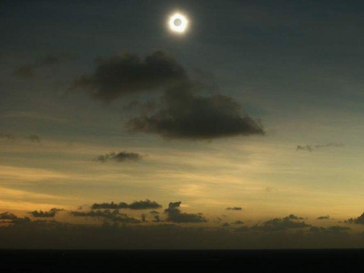 Total solar eclipse in Australia