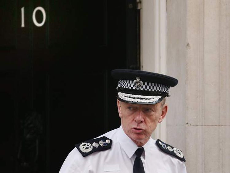 Bernard Hogan-Howe Leaves Number 10 Downing Street