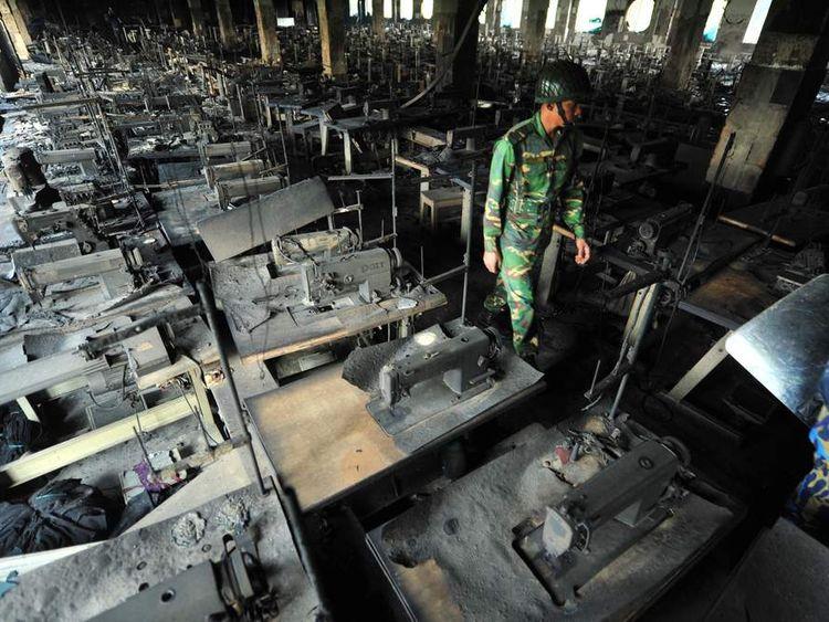 BANGLADESH-FACTORY-TEXTILE-FIRE