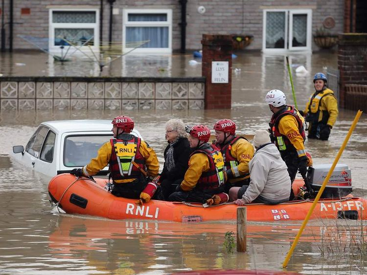 Flood Warnings In Northern United Kingdom As Heavy Rain Storms Hit