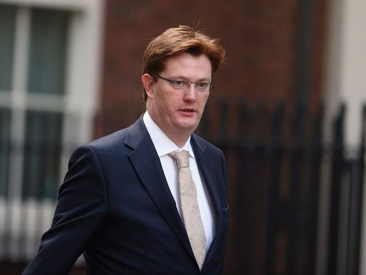 Danny Alexander in Downing Street