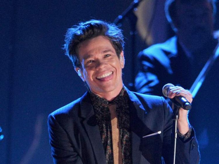 Nate Ruess of fun.