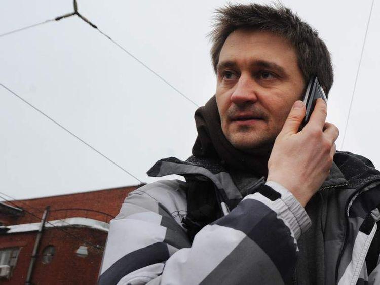 Russian filmmaker Pavel Kostomarov