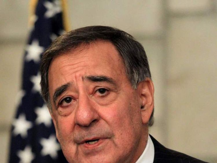 Defence Secretary Leon Panetta