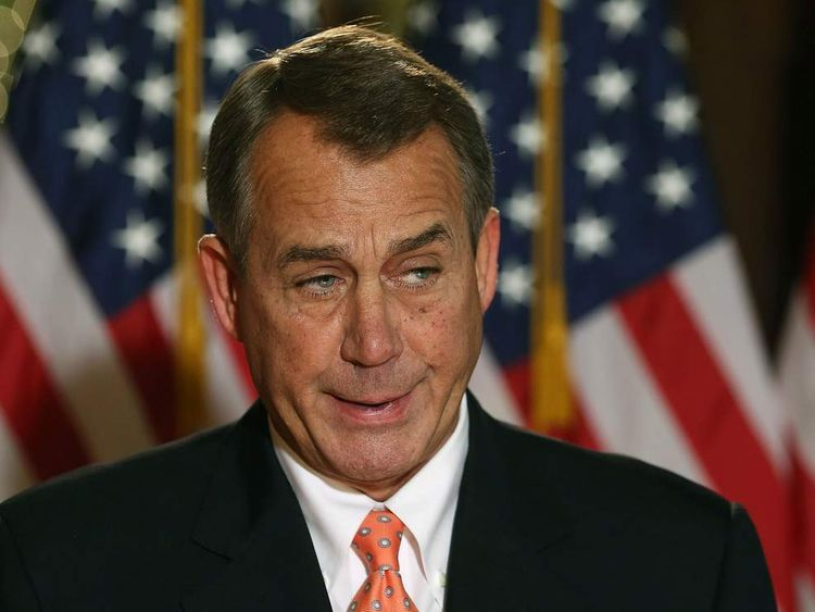 Boehner Addresses Fiscal Cliff Negotiations