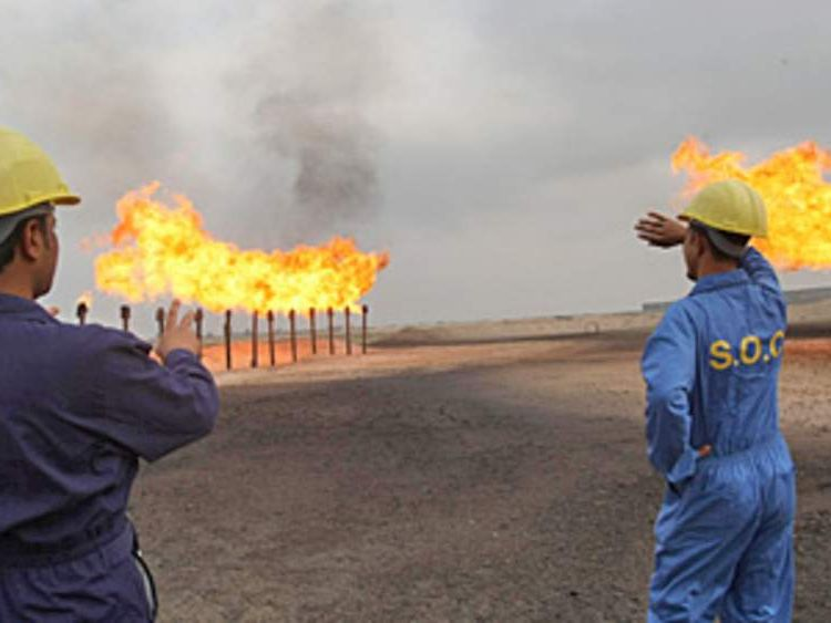 Iraqi Oil Field