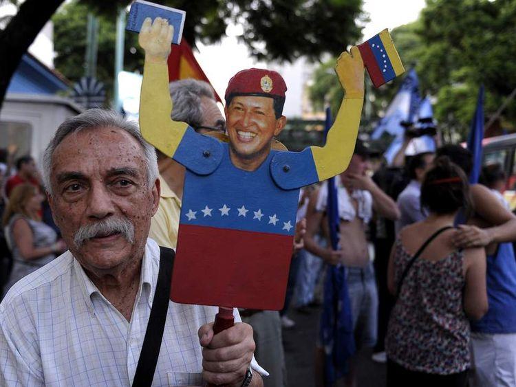 Chavez health rally