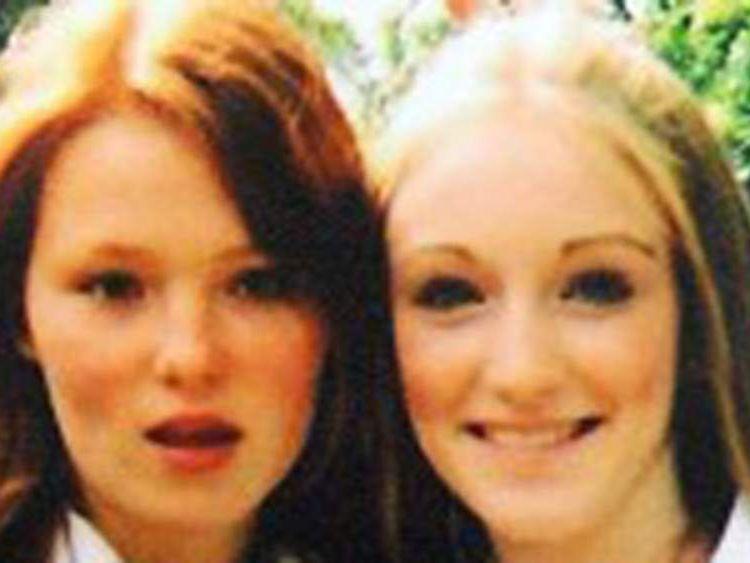 Charlotte Thompson (left) and Olivia Bazlinton were killed at Elsenham train station, Essex, in 2005