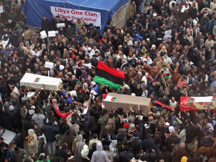 Protests continue in Libya