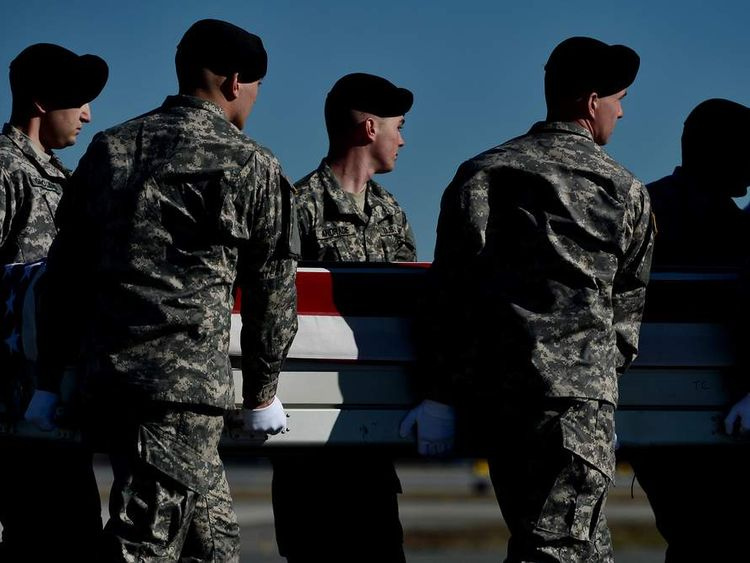 Body Of Army Sergeant Killed In Afghanistan Returns To Dover Air Force Base