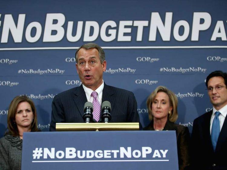 House Republican Leaders Speak To Media