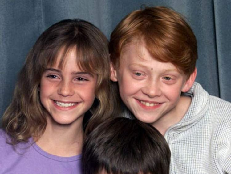 Harry Potter first photocall with Emma Watson, Daniel Radcliffe and Rupert Grint