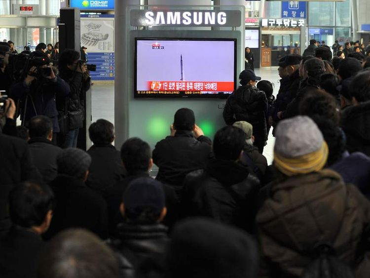 South Korea Satellite Launch