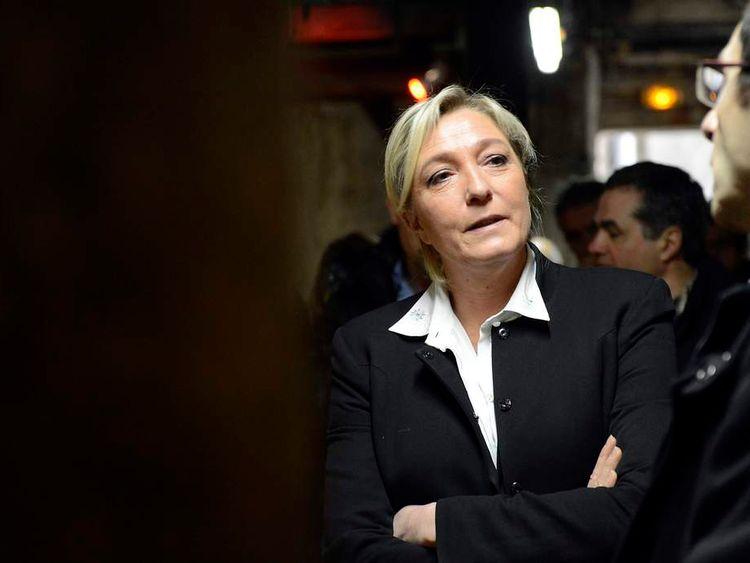 Marine Le Pen Front National leader