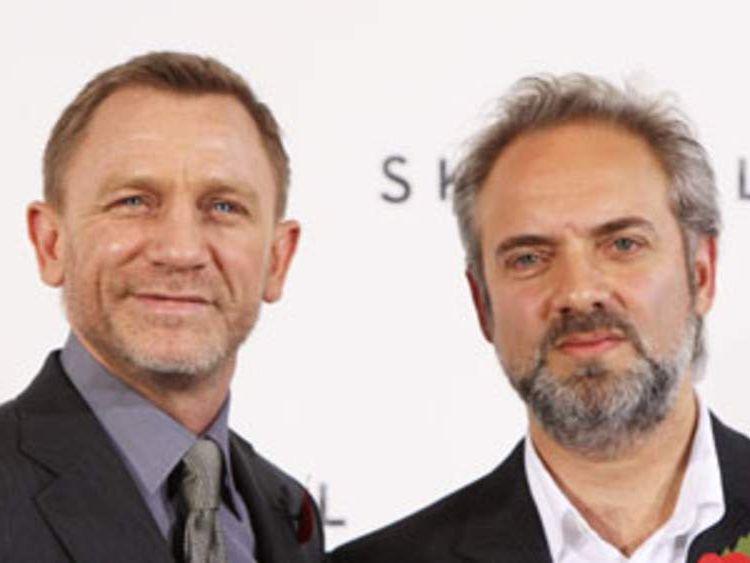 Daniel Craig and director Sam Mendes
