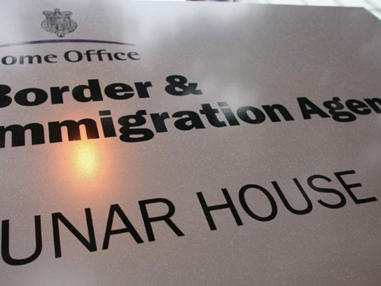Lunar House, the headquarters of the UK Border Agency