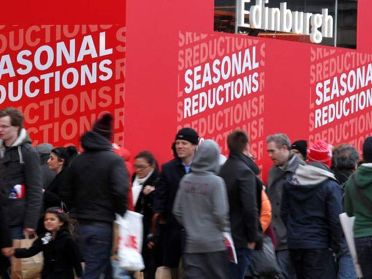 Shoppers taking advantage of seasonal sales