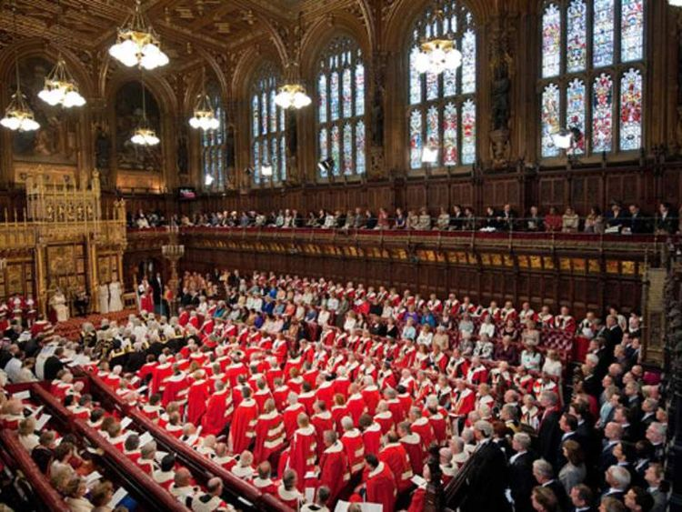 House of Lords during State Opening