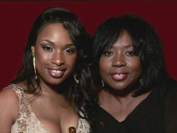 Actress Jennifer Hudson with her mother Darnell Donerson
