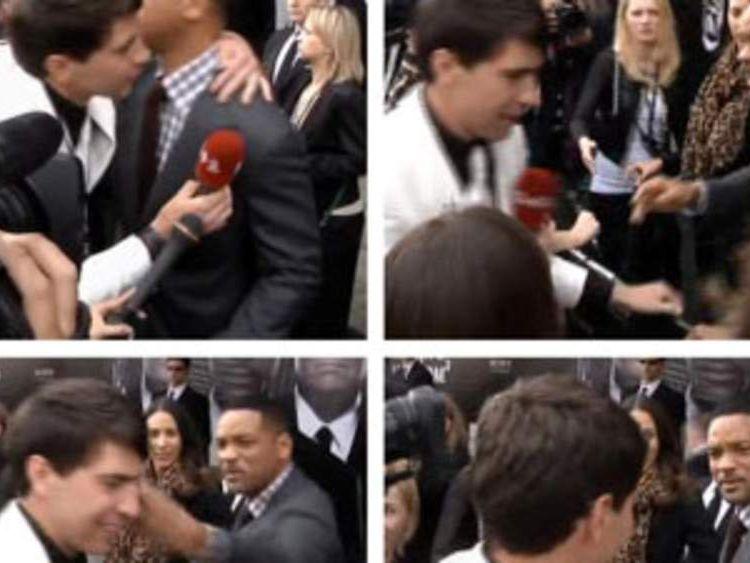 Will Smith slaps reporter