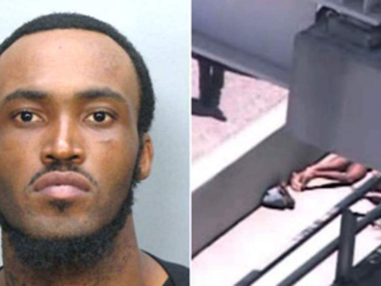 Rudy Eugene, who was shot dead by police after chewing another man's face (Picture: local10.com)
