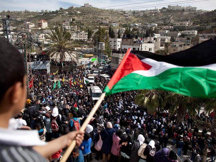 Funeral Held For Palestinian Detainee Arafat Jaradat