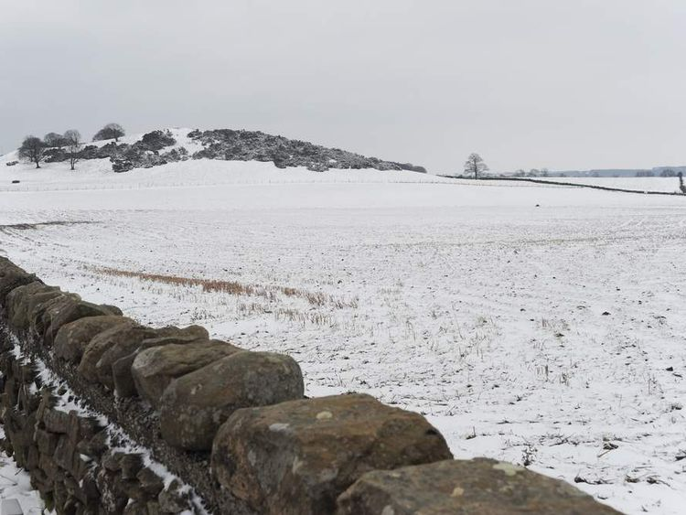 Snow And Rain Hit Britain In Coldest March In 50 Years