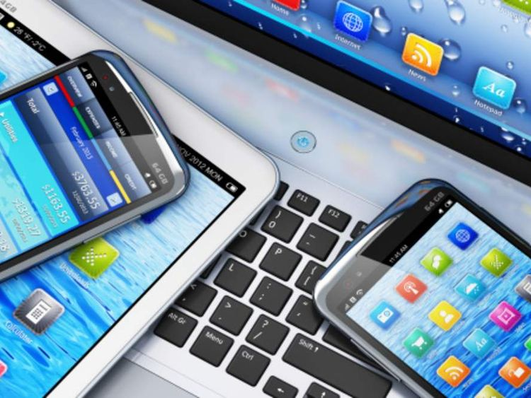 Apps on mobile devices