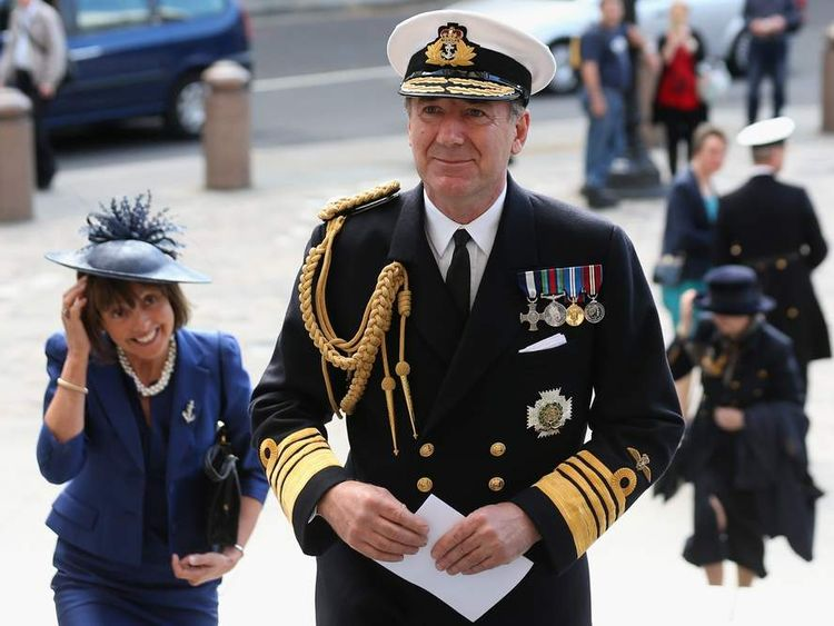 St Pauls Service To Mark The 70th Anniversary Of The  Battle Of The Atlantic
