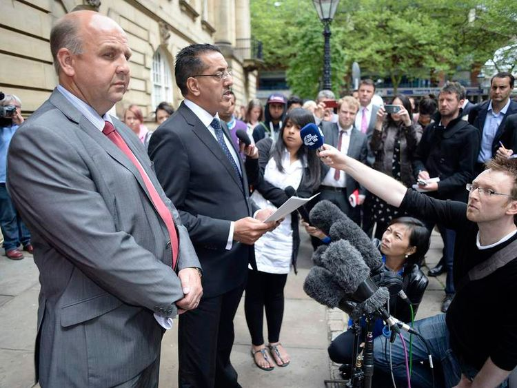 Nazir Afzal of the Crown Prosecution Service