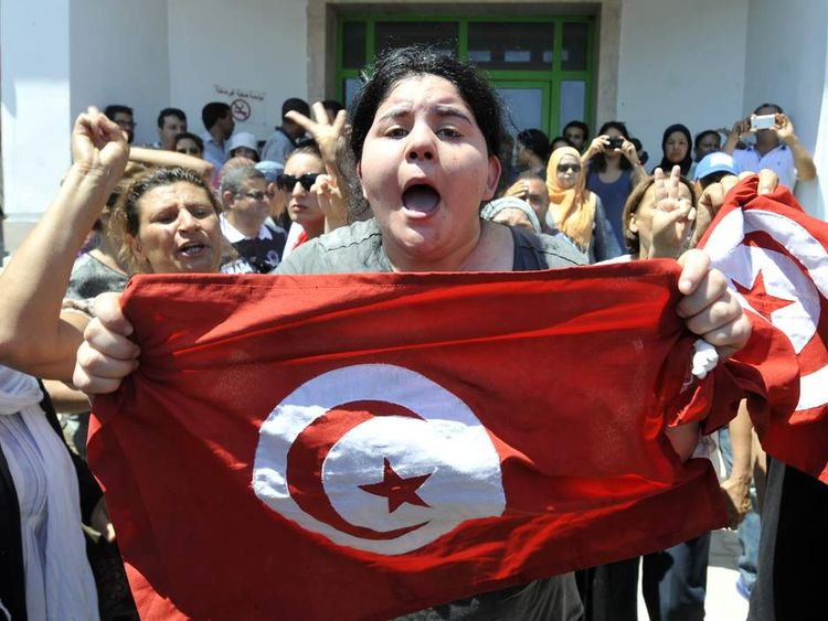 TUNISIA-POLITICS-ASSASSINATION