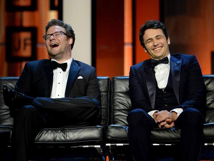Seth Rogen and James Franco