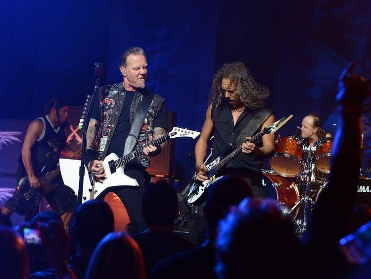 SiriusXM Presents Metallica Live At The Apollo Theater
