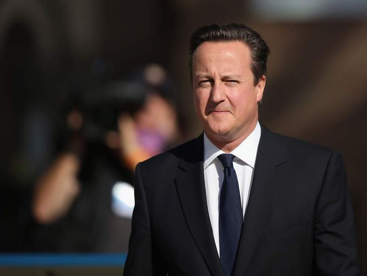 The Conservative Party Annual Conference David Cameron