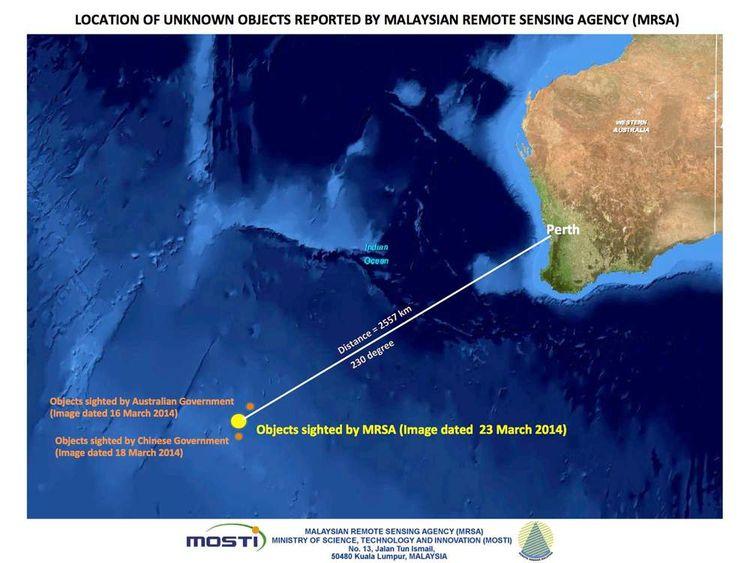 Malaysia missing plane seach effort