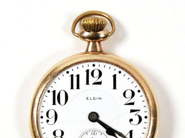 Clyde Barrow's gold pocket watch