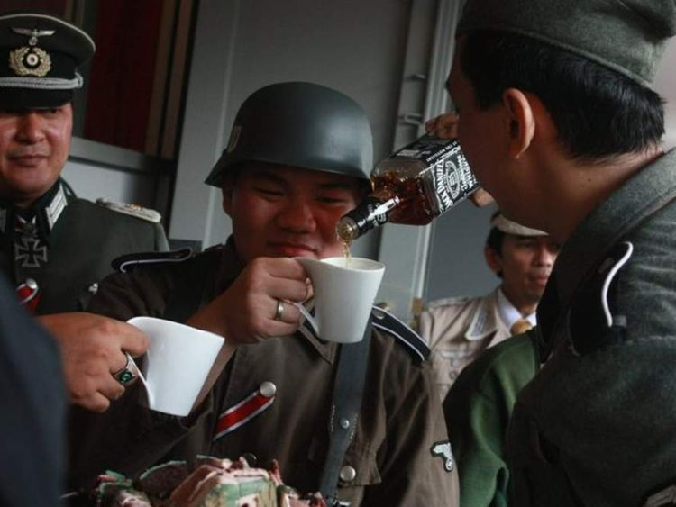 Indonesia's Nazi cafe