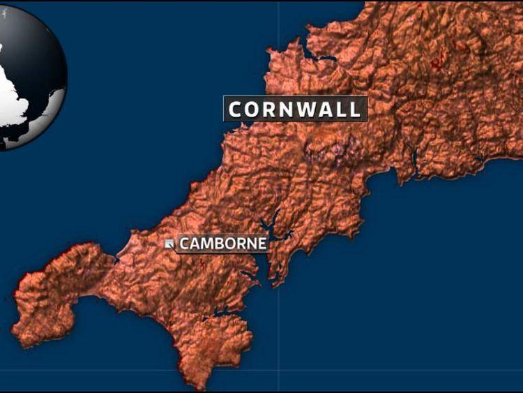 Cornwall map
