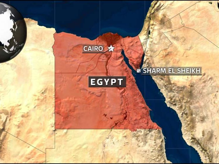 Map of Sharm el Sheikh, Egypt