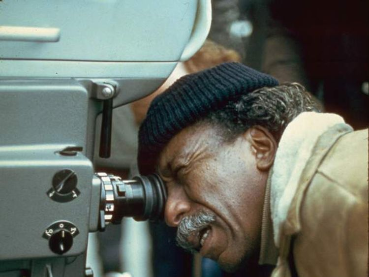 Gordon Parks Filming in 1970
