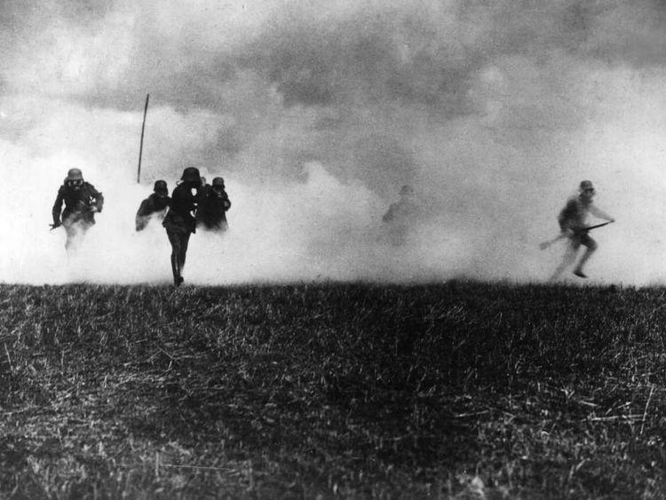 German Soldiers In First World War