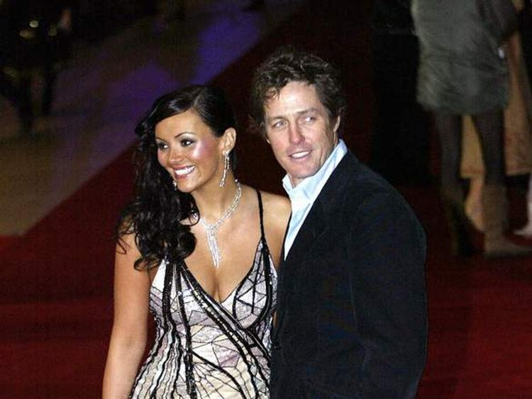 Hugh Grant and Martine McCutcheon