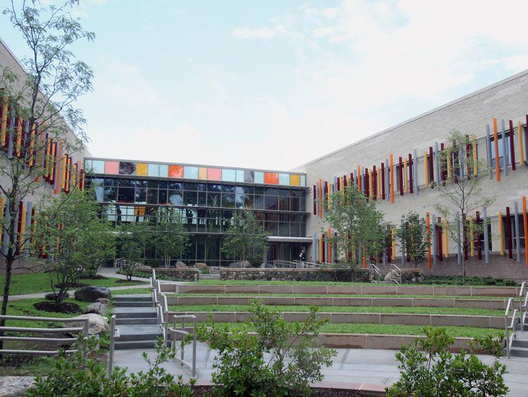 The new Sandy Hook Elementary School